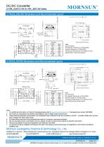 MORNSUN 3W Ultra-thin Isolated Output DC/DC Converters URB_J(M)T/D-3W - 7