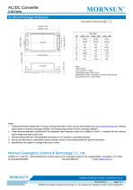 MORNSUN 40W 85-264VAC input dual outputs AC/DC Converter LH40-10 Series - 7