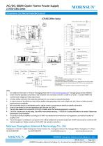 MORNSUN 450W AC/DC Enclosed Switching Power Supply LOF450-20Bxx - 5
