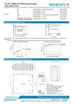 MORNSUN 480W  AC/DC Din Rail Power Supply LIF480-10BxxR2 - 3