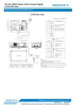 MORNSUN 550W AC/DC Enclosed Switching Power Supply LOF550-20Bxx - 5