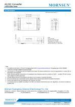 MORNSUN 5W 85-264VAC input AC/DC Converter LHE05-20Bxx - 5