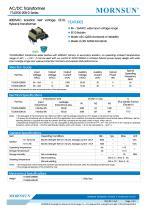 MORNSUN 5W AC-DC Automotive Isolated Transformer TTLDE05-20B-D - 1
