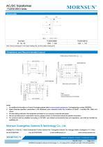 MORNSUN 5W AC-DC Automotive Isolated Transformer TTLDE05-20B-D - 2