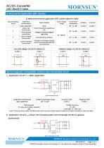 MORNSUN 5W SIP AC DC converter LS05-13BxxR3-Flexible design for all-rounder applications - 4
