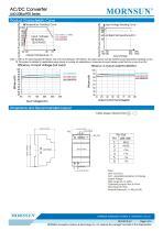 MORNSUN 60watt 85-264VAC input AC DC power supply / converter / DIN-Rail / LI60-20BxxPR2 - 3