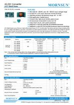 MORNSUN compact 10W AC DC converter LS010-13BxxR3-Flexible design for all-rounder applications