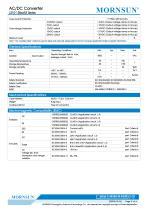 MORNSUN compact 10W AC DC converter LS010-13BxxR3-Flexible design for all-rounder applications - 2