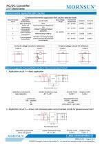 MORNSUN compact 10W AC DC converter LS010-13BxxR3-Flexible design for all-rounder applications - 4