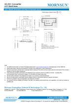MORNSUN compact 10W AC DC converter LS010-13BxxR3-Flexible design for all-rounder applications - 6