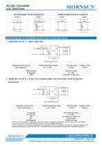 MORNSUN compact 3W AC DC converter LS03-13BxxR3-Flexible design for all-rounder applications - 4