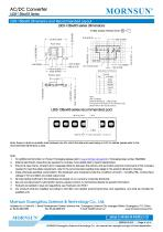 MORNSUN compact 3W AC DC converter LS03-13BxxR3-Flexible design for all-rounder applications - 6