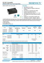 MORNSUN DC DC converter QAxx3D-2GR3 for IGBT Driver - 1
