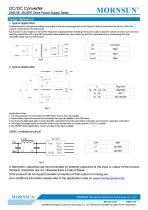 MORNSUN DC DC converter QAxx3D-2GR3 for IGBT Driver - 3