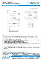 MORNSUN DC DC converter QAxx3D-2GR3 for IGBT Driver - 4