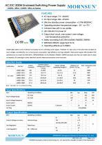 Mornsun Enclosed power supply LM200-12Bxx - 1