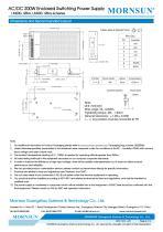 Mornsun Enclosed power supply LM200-12Bxx - 4