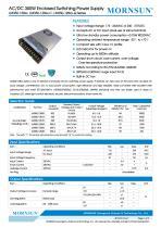 Mornsun Enclosed power supply LM350-12Bxx - 1