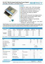 Mornsun Enclosed power supply LM75-22Bxx - 1