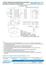 Mornsun Enclosed power supply LM75-22Bxx - 4