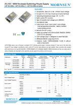 Mornsun Enclosed power supply LMF100-20Bxx - 1