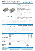 Mornsun Enclosed power supply LMF150-20Bxx - 1