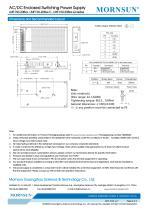 Mornsun Enclosed power supply LMF150-20Bxx - 4