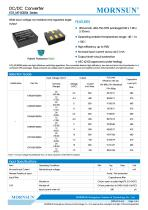 The Newest Chiplet SiP Switching Regulators K78-R4 Series - 1