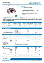 Open Frame CAN Transceivers TDx21DCANx Series - 1