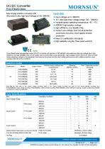 PVxx-27BxxR2 / 10:1 / 100~1000Vdc input / dc dc converter / photovoltaic power / 5, 10, 15 watt - 1