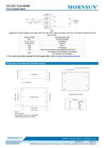 PVxx-27BxxR2 / 10:1 / 100~1000Vdc input / dc dc converter / photovoltaic power / 5, 10, 15 watt - 5