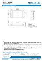 PVxx-27BxxR2 / 10:1 / 100~1000Vdc input / dc dc converter / photovoltaic power / 5, 10, 15 watt - 7