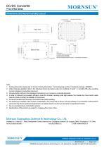 PVxx-29Bxx / 15:2 / 200~1500Vdc input / dc dc converter / photovoltaic power / 10, 15, 40 watt - 4