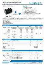 QA / DC DC converter for IGBT driver - 1