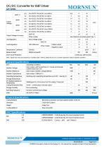 QA / DC DC converter for IGBT driver - 2