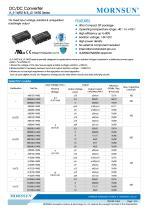 A_S-1WR2 / 1watt DC-DC converter / Dual output - 1