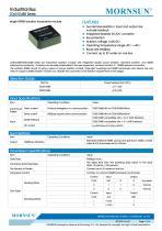 TDx01D485 / 485bus data transceiver module / 0~9.6Kbps / 32 nodes - 1