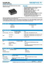 TDx01DCANH3 / CANbus / Integrated Isolated DC/DC converter / 1 Mbps - 1