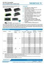 URA_LD-20WR3 / 4:1 / 20 watt / wide input voltage / dc dc converter / 1500Vdc isolation / ultra low power consumption / industrial / Regulated / Dual output / DIP - 1