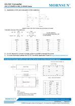 URA_LD-20WR3 / 4:1 / 20 watt / wide input voltage / dc dc converter / 1500Vdc isolation / ultra low power consumption / industrial / Regulated / Dual output / DIP - 5