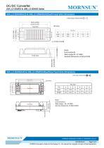 URA_LD-20WR3 / 4:1 / 20 watt / wide input voltage / dc dc converter / 1500Vdc isolation / ultra low power consumption / industrial / Regulated / Dual output / DIP - 7