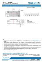 URA_LD-20WR3 / 4:1 / 20 watt / wide input voltage / dc dc converter / 1500Vdc isolation / ultra low power consumption / industrial / Regulated / Dual output / DIP - 8