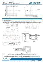 "URA_YMD-10WR3 / 4:1 / 1""*1"" / 10 watt dc dc converter - 4"