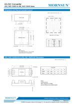 "URA_YMD-10WR3 / 4:1 / 1""*1"" / 10 watt dc dc converter - 5"