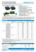 "URA_YMD-6WR3 / 4:1 / 1""*1"" /6 watt / dc dc converter - 1"