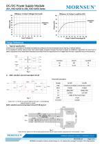"URA_YMD-6WR3 / 4:1 / 1""*1"" /6 watt / dc dc converter - 4"