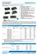URB_LD-30WR3 / 4:1 / 30 watt / dc dc converter / industrial - 1
