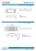 URB_LD-30WR3 / 4:1 / 30 watt / dc dc converter / industrial - 6