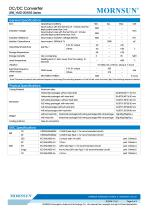 URB_YMD-20WR3 series are isolated 20W DC-DC products with 4:1 input voltage. - 3