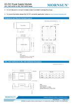"URB_YMD-6WR3 / 4:1 / 1""*1"" /6 watt / dc dc converter - 5"